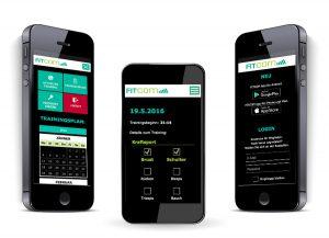 Fitcom Traininsplaner App